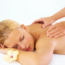 entspannende Wellness-Massage